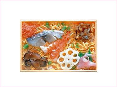 ちらし寿司 648円